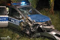 Verkehrsunfall Streifenwagen B42 Geisenheim 23.07.12