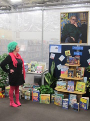 Margaret Mahy displays at libraries
