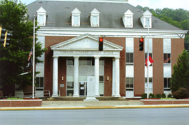 Gordon County Court House Calhoun Ga
