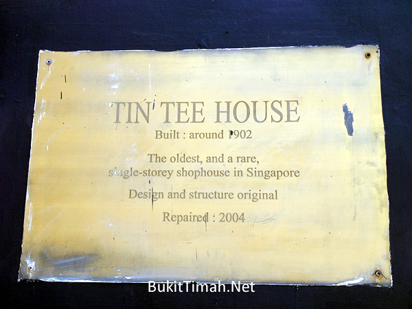 Tin Tee House - 903 Bukit Timah Road