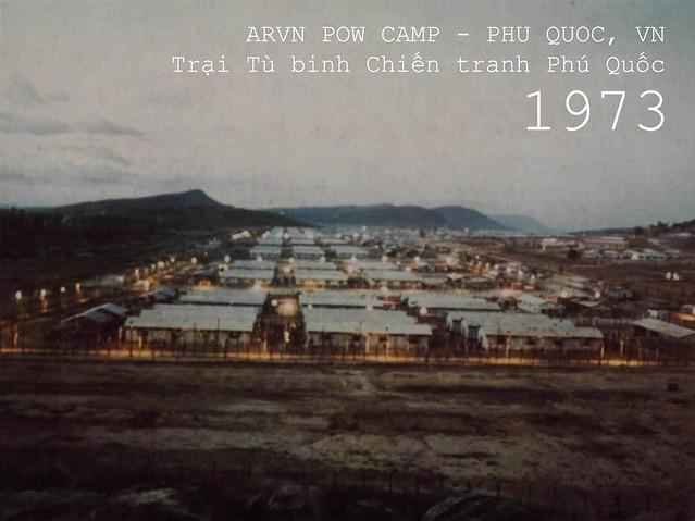 Trại Tù binh Chiến tranh Phú Quốc. 1973