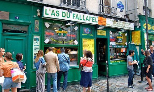 Paris falafel