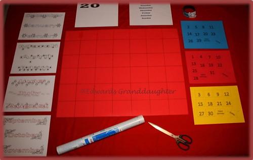 3 School Calendar @Edwards Granddaughter