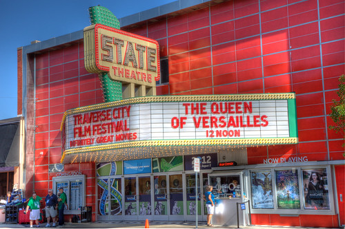 HDR State Theatre Traverse City, Michigan