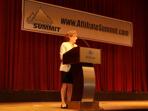 Sara Levinson Delivering the Keynote at Affiliate Summit East 2012