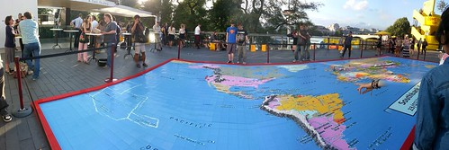 Southbank centre world map