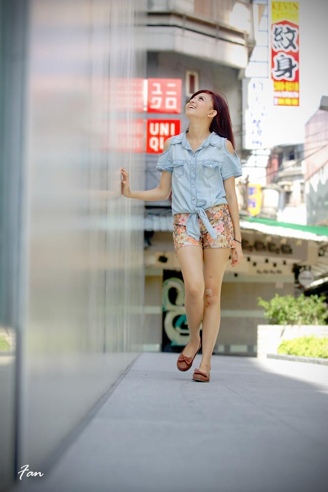 蔣蔣—西區新潮街拍