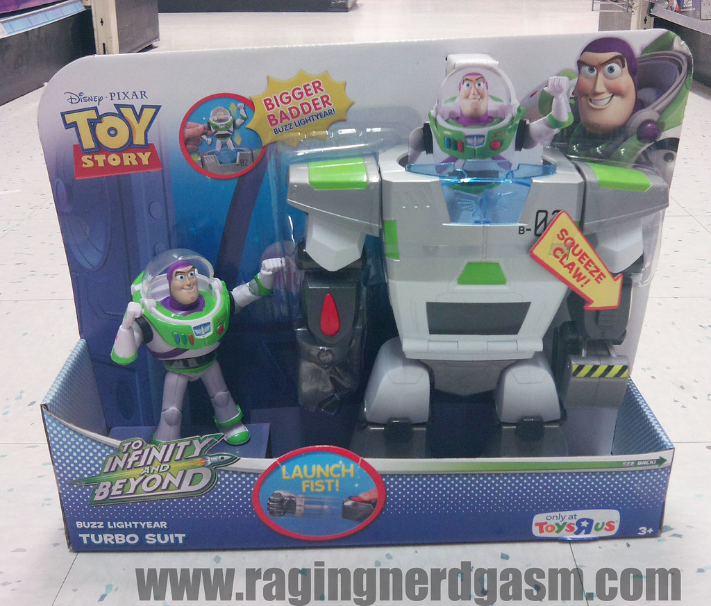 Toy Story Action figuresSpace Mission Turbo suit013