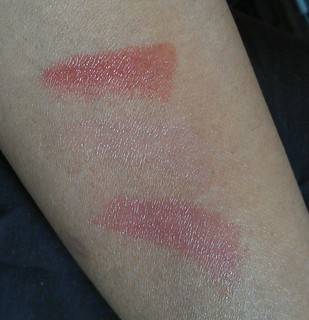 Revlon Just Bitten Kissable Balm Stain Swatchrs ( Adore, Charm, Honey)
