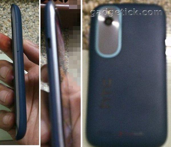 HTC Desire X сзади и сбоку