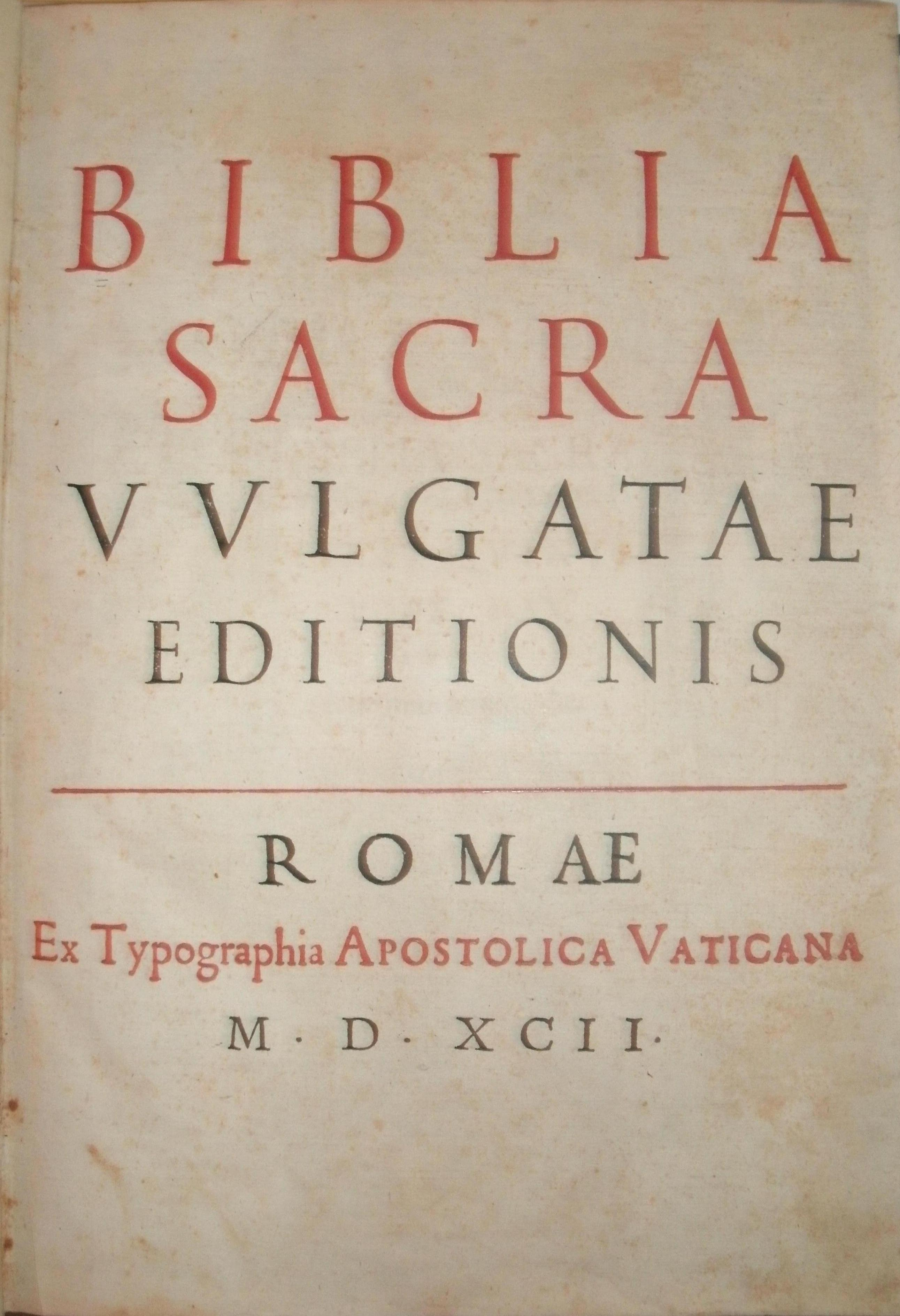 SACRA VULGATE EBOOK DOWNLOAD