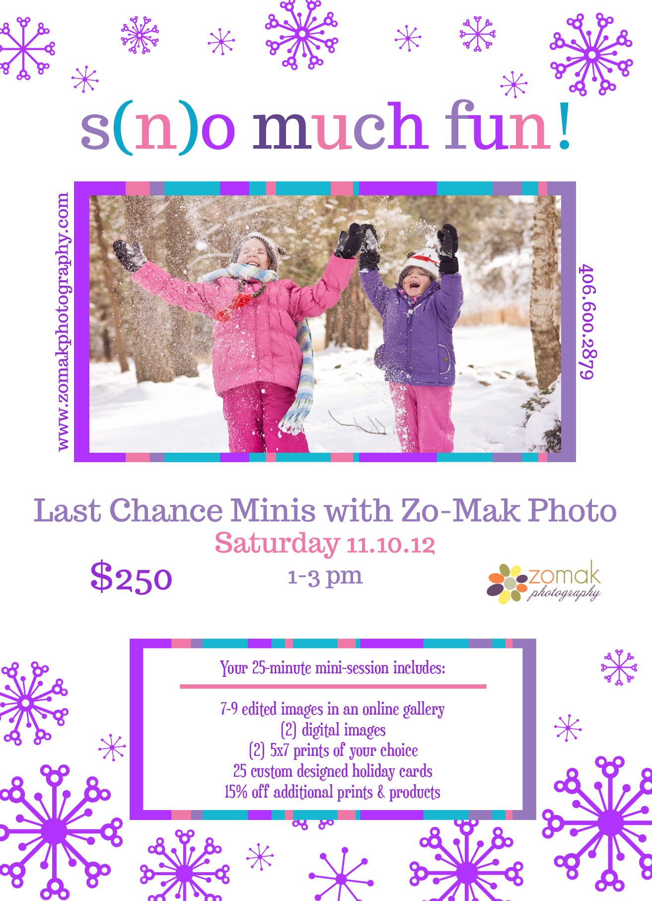 sno much fun last minute minis
