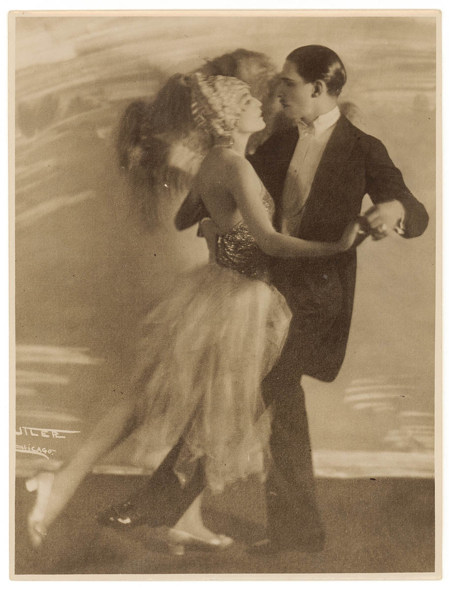 Twenties tango / Cutler, Chicago copied by photographer Sam Hood for a theatre