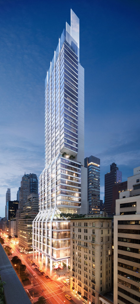 Winning Design for 425 Park Avenue by Foster + Partners. Image via Architizer