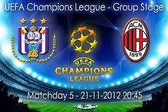 biglietti Anderlecht-Milan