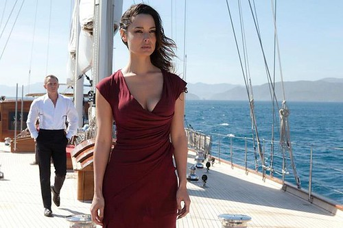 James Bond on Regina charter yacht