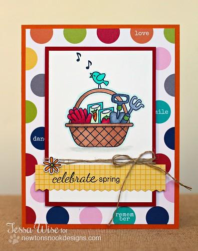 Celebrate Spring Card 1