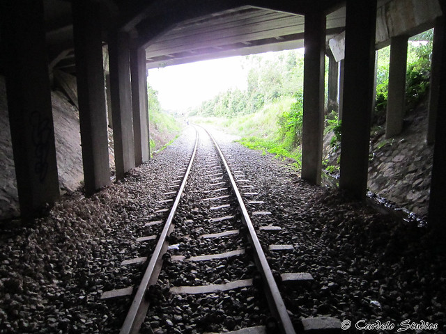 KTM Railway Track - Holland Road 2nd Bridge 01