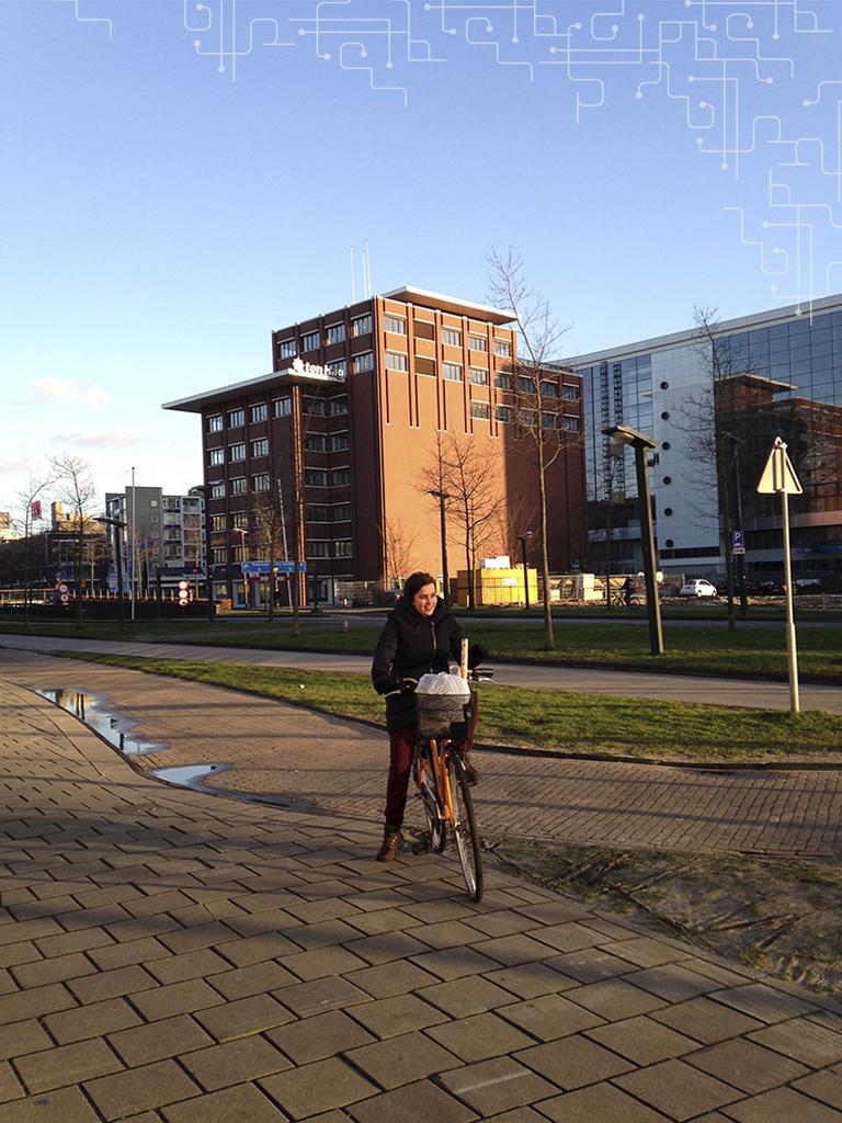 Enschede, bike