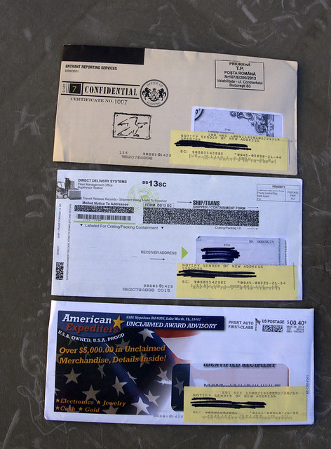 These 3 pieces of Junk Mail Look like they need to be opened right away