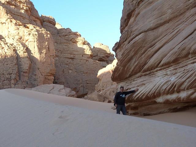 Wadi Sura en Gilf Kebir (Desierto Líbico, Egipto)