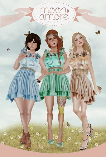 :Moon Amore: Dulce Primavera Dress