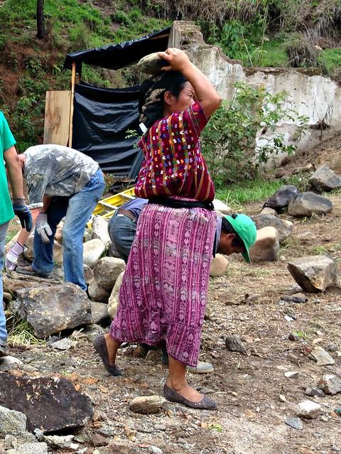 Copy of Petronila carrying rock
