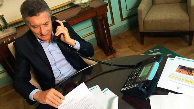 enviar una carta al presidente macri