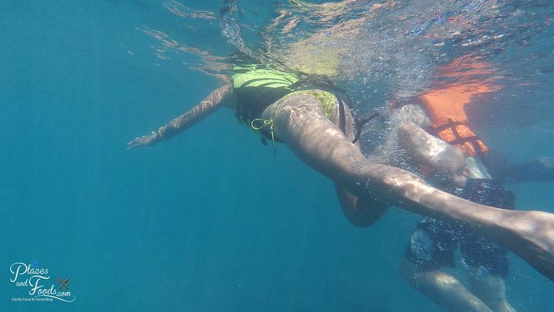 tachai island snorkeling girl