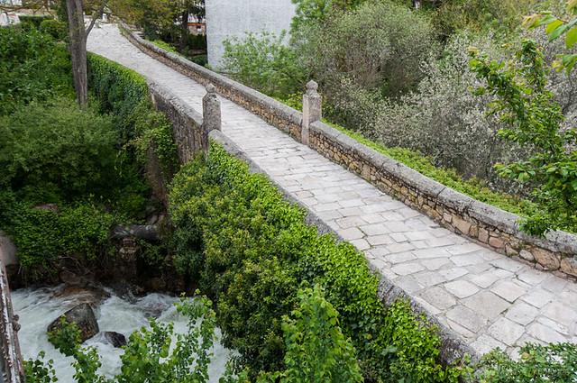 El puente viejo de manzanares el real fotonazos viajes - Polideportivo manzanares el real ...