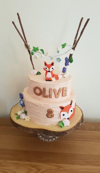 Freddy Fox Cake by Maggie Caswell