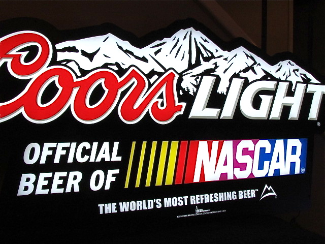 Coors Light Nascar 40 Quot Led Sign Neon Bar Light Flickr