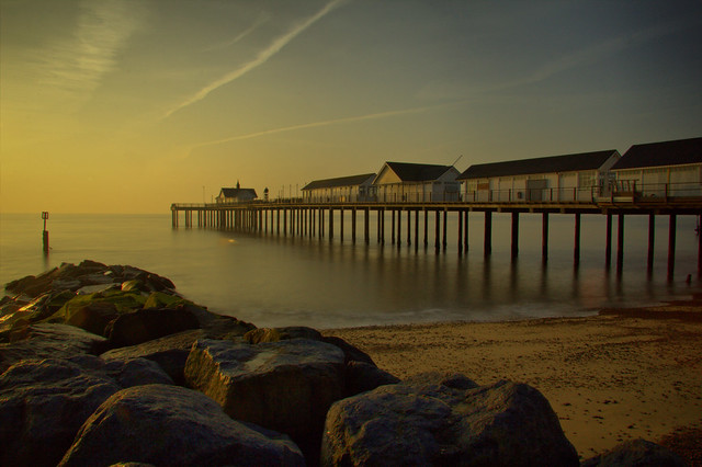 Southwold Pier Sunrise ND400