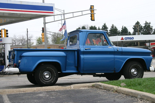 Old Blue Chevy Pickup Truck | Flickr - Photo Sharing!