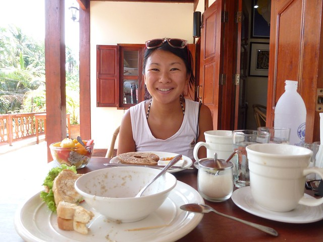 Really nice food at the Arthouse Cafe, Luang Prabang, Laos