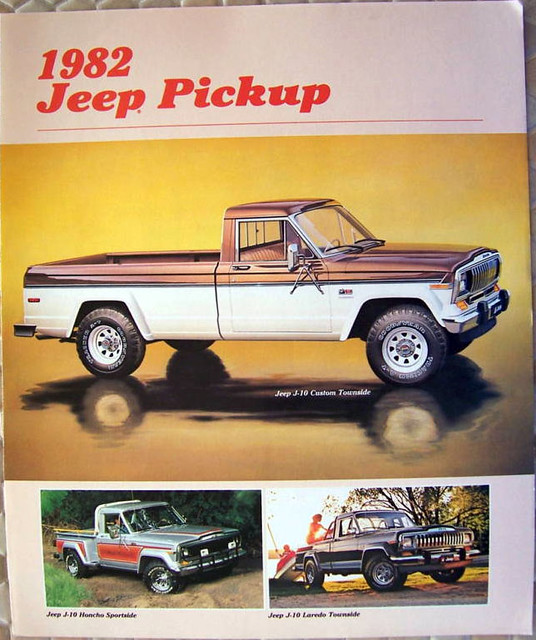 1982 Jeep/AMC J-10 Pickup brochure