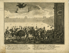 Engraving des Konigs on Spaniern Geschenk