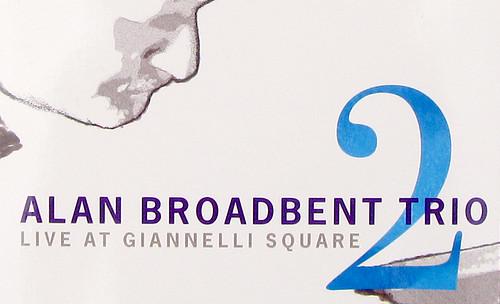 Detail of Alan Broadbent Trio CD Package