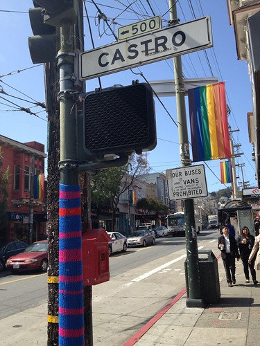 Castro Street Utility Poll Striped Knit Hack