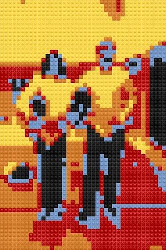 """Lego Fencers by aforgrave, on Flickr"