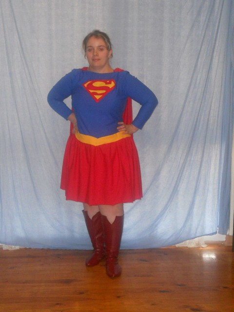 Complete Superwoman Costume Flickr Photo Sharing