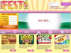 Bingo Fest Lobby