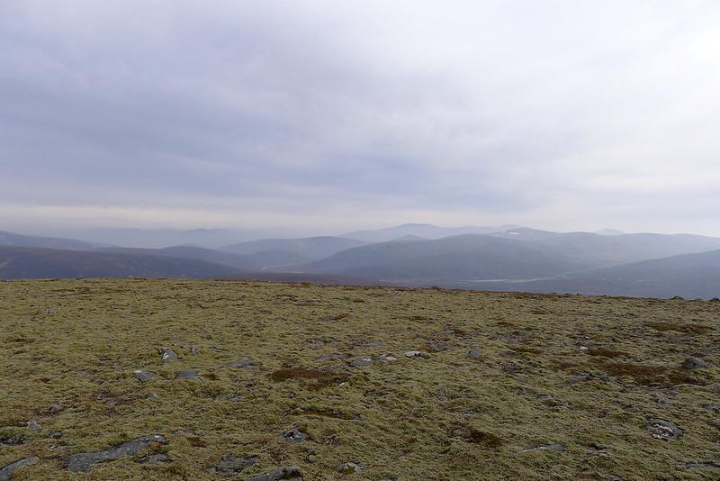 East from Beinn Bhreac