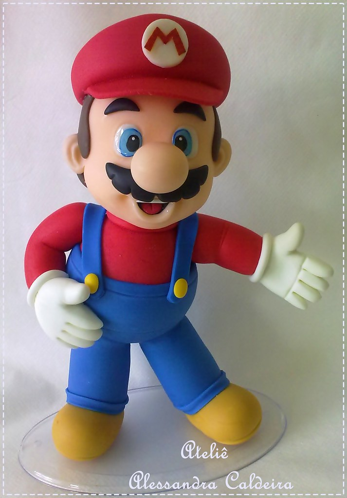 How To Make A Mario Cake Topper
