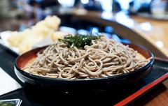 Mitsuwa Food Court - Soba with Shrimp Tempura