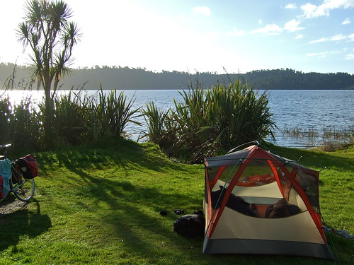 camp at lake ianthe