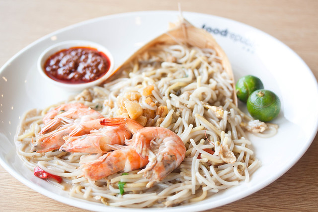 Fried Prawn Noodle