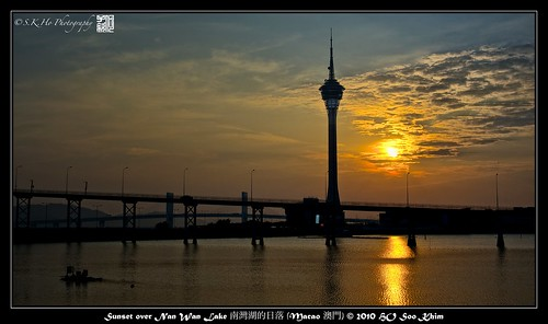 travel sunset nikon macau 日落 msm nationalgeographic macao 澳門 d700 nikond700 worldtrekker 南灣湖 攝影發燒友 nanwanlake