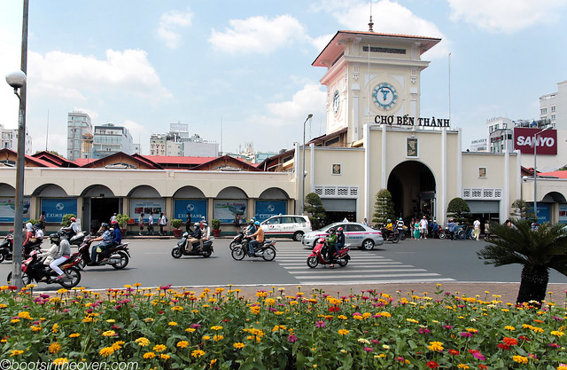 Ben Thanh Market Front