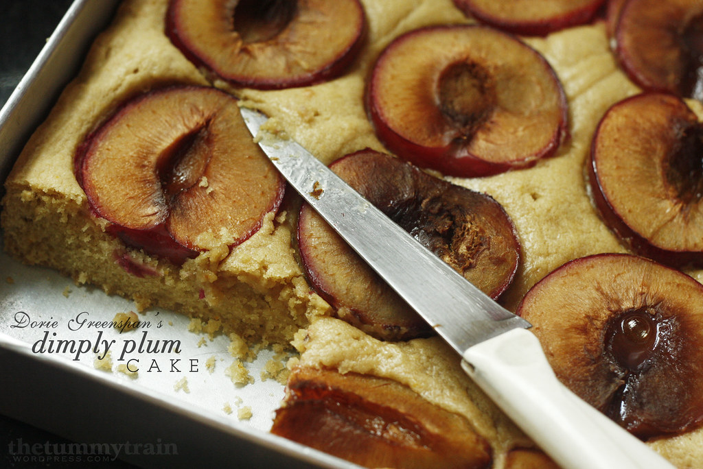 balm ice cream and toasted blueberry pound cake peach and plum pie ...